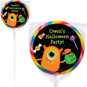 Halloween Personalized Lollipops (Pack of 12)