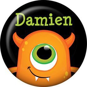 Halloween Personalized Mini Button (Each)