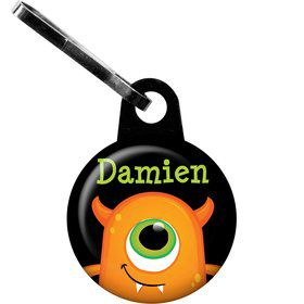 Halloween Personalized Mini Zipper Pull (Each)
