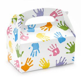 Handprint Empty Favor Boxes