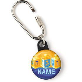 "Hanukkah Personalized 1"" Carabiner (Each)"