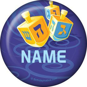 Hanukkah Personalized Button (Each)