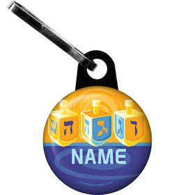 Hanukkah Personalized Zipper Pull (Each)