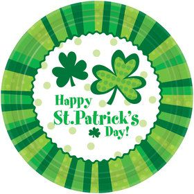 Happy St. Patrick's Day Cheer Dinner Plate (60)