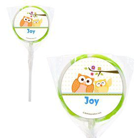 "Happy Tree Personalized 2"" Lollipops (20 Pack)"