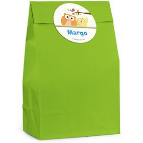 Happy Tree Personalized Favor Bag (Set Of 12)