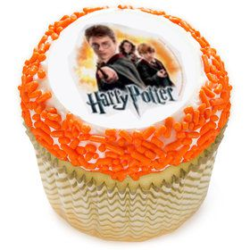 "Harry Potter 2"" Edible Cupcake Topper (12 Images)"
