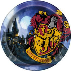 "Harry Potter 9"" Lunch Plates (8 Count)"
