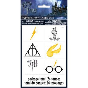 Harry Potter Favor Tattoo (4 Sheets)