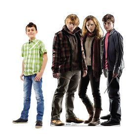 Harry Potter Group Cardboard Stand Up 5.5'