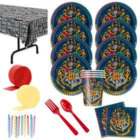 Harry Potter Party Deluxe Tableware Kit (Serves 8)