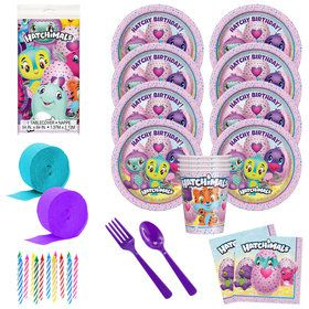 Hatchimals Deluxe Tableware Kit (Serves 8)