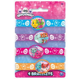 Hatchimals Rubber Bracelet Favors (4)