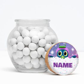 """Hatching Animals Personalized 3"""" Glass Sphere Jars (Set of 12)"""