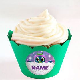 Hatching Animals Personalized Cupcake Wrappers (Set of 24)