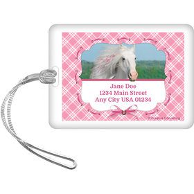 Heart My Horse Personalized Luggage Tag (Each)