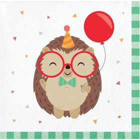 Hedgehog Beverage Napkins (16)