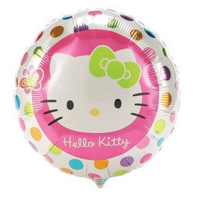 "Hello Kitty Foil 18"" Balloon (Each)"