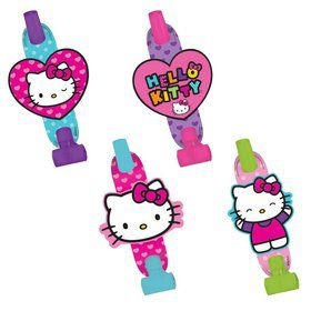 "Hello Kitty Rainbow 5"" Blowouts (8 Pack)"