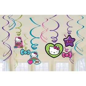 Hello Kitty Swirls