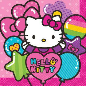 Hello Kitty Rainbow Luncheon Napkins (16 Pack)