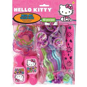 Hello Kitty Rainbow Mega Mix Favor Pack (For 8 Guests)