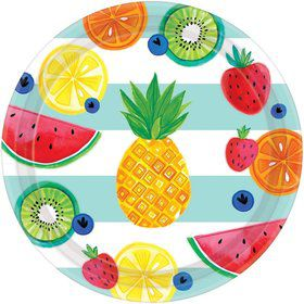 """Hello Summer 10"""" Lunch Plate (8)"""