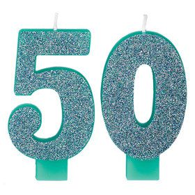 Here's to Your 50th Birthday Candle