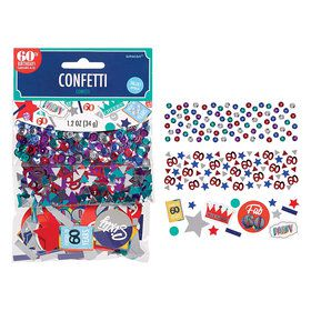 Here's to Your 60th Birthday Confetti Mix