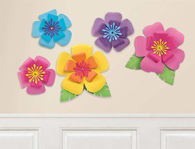 Hibiscus Paper Flower Decorations