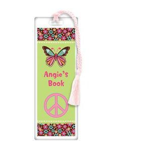 Hippie Chick Personalized Bookmark (each)