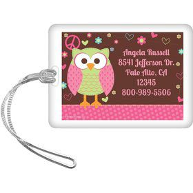 Hippie Chick Personalized Luggage Tag (each)