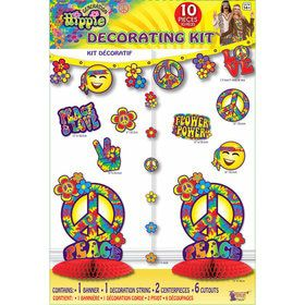 Hippie Decoration Kit (10 Pieces)