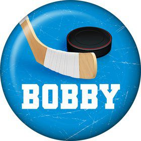 Hockey Party Personalized Mini Button (each)