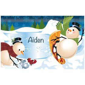 Holiday Cheer Personalized Placemat (Each)