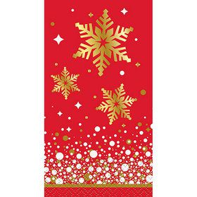 Holiday Snowflake Guest Napkins (16)