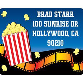 Hollywood Personalized Address Label