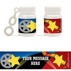 Hollywood Personalized Bubbles (18 Pack)