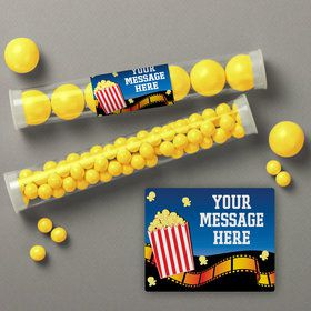 Hollywood Personalized Candy Tubes (12 Count)