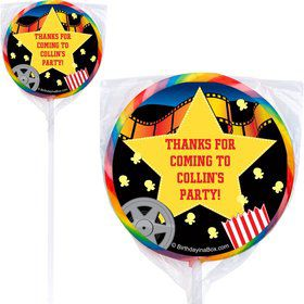 Hollywood Personalized Lollipop (PACK OF 12)
