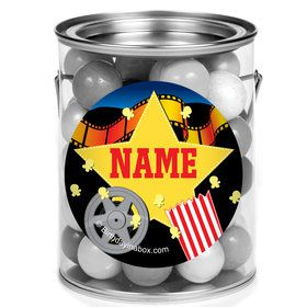 Hollywood Personalized Mini Paint Cans (12 Count)