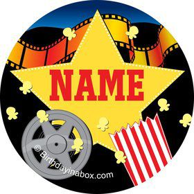 Hollywood Personalized Mini Stickers (Sheet of 24)