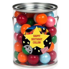 Hollywood Personalized Paint Can Favor Container (6 Pack)