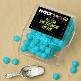 Holy Bleep Personalized Candy Bin with Candy Scoop (10 Count) S