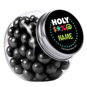 Holy Bleep Personalized Plain Glass Jars (12 Count)