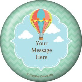 Hot Air Balloon Personalized Magnet (Each)