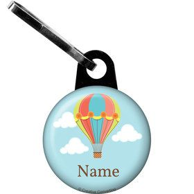 Hot Air Balloon Personalized Zipper Pull (Each)