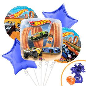 Hot Wheels Balloon Bouquet