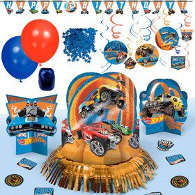Hot Wheels Party Decoration Kit