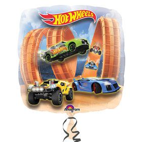 "Hot Wheels Racer Jumbo 28"" Balloon"